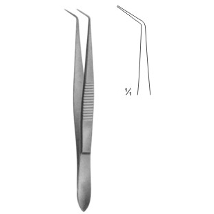 Dressing Forceps Curved 100mm