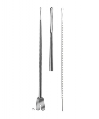 Brodie Butterfly Probe , Grooved Director 200mm With Tip 3.5mm