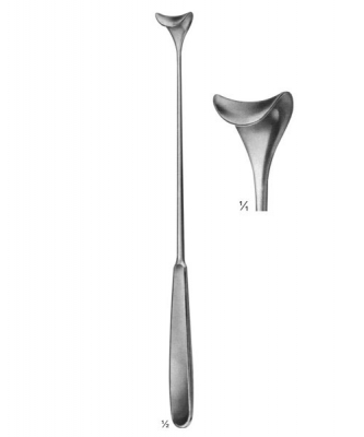 Cushing Lid Retractor Working Size 14mm Length 250mm