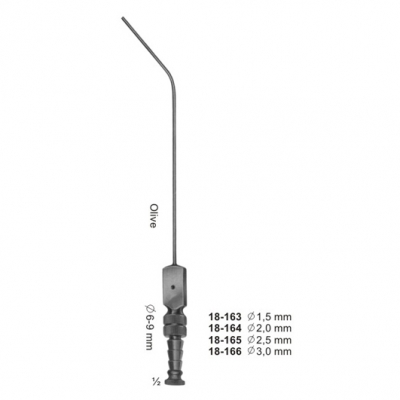 PLESTER Suction Cannula 195mm